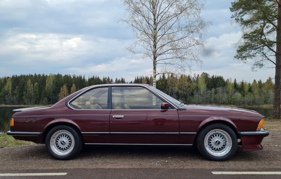 BMW M635 – 1987. Orenoverat originalskick och bara tre ägare sedan ny. 405 000 kronor!