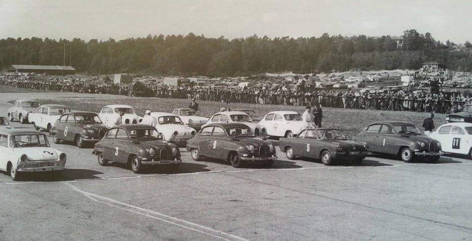 En startuppställning på Skarpnäck 1962