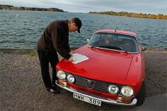 Vättern runt i Alfa Romeo