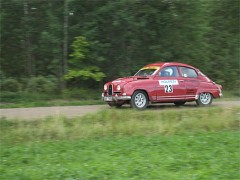 Klassiska rallybilar intog Almunge