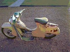Renovering av tvåhjulingar