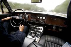 Jaguar XJ6 längs Jungfrukusten