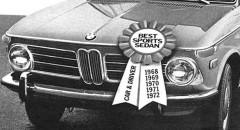 BMW:s nolltvåor i reklamen