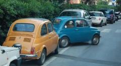 Massor av Fiat i Moneglia