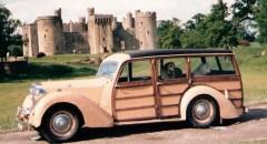 Märkliga herrgårdsvagnar från England