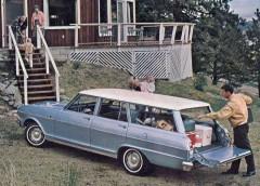 Från bakluckan - Chevrolet