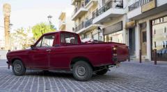 Bilspaning på Kreta