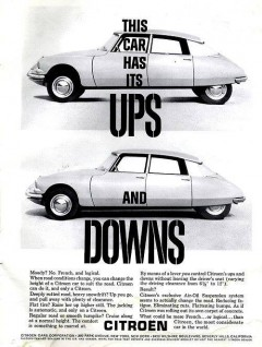 Citroën DS i USA