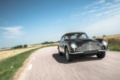 På drift i Aston Martin!