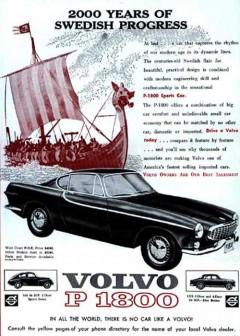 Volvo P1800 i reklamen