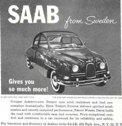Saab världen runt