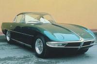 Så här såg Lamborghinis första prototyp ut, urmodellen 350GTV från 1963.