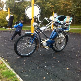 Moped för träningsnördar