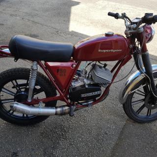 "Crescent F50 zundapp -78 ""SÅLD"""