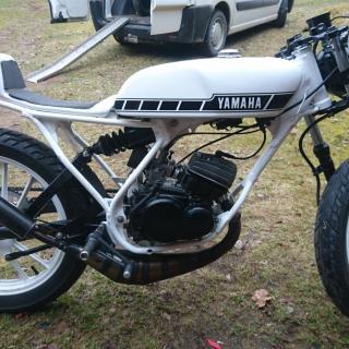 Yamaha DT50mx café-racer