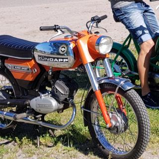 """Zundapp Ks50 super sport -76  """"Semester klippet"""""""