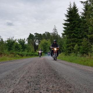 Från Växjö till Halmstad tur-retur 2017 banvallsleden