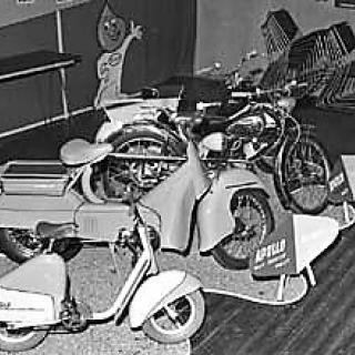 Moped utstilling 1957