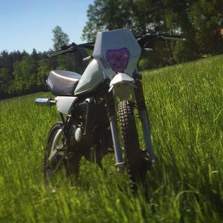 Yamaha DT50MX - Styling projekt