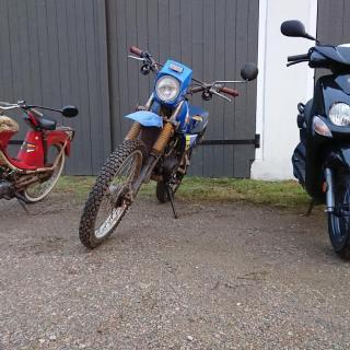 Tre generationer mopeder