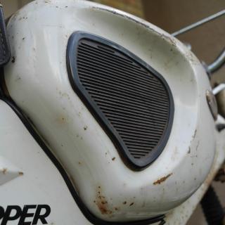 Orenoverad Topper