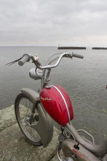 Skön långrea längs Göta kanal.
