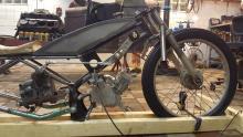 En riktig moped har växelspak.