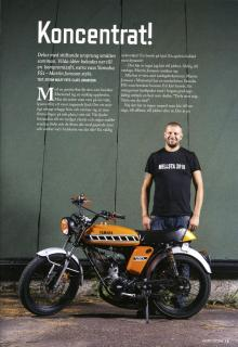 Moped …med kalender!