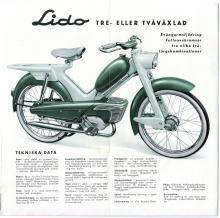 Det sena 1950-talet bjöd på sköna och udda mopeder!