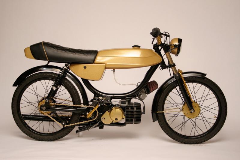 Test av en moped!