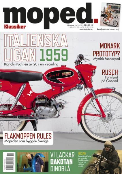 Moped 1/2014, vi möter våren med undersköna italienska drömmopeder