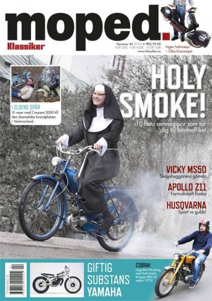 Moped 4/2014 med väggkalender på köpet