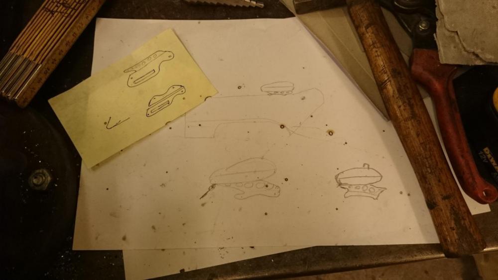 Men innan Lars von Loco är där ligger massor av arbete bakom. Man börjar med penna och papper ...