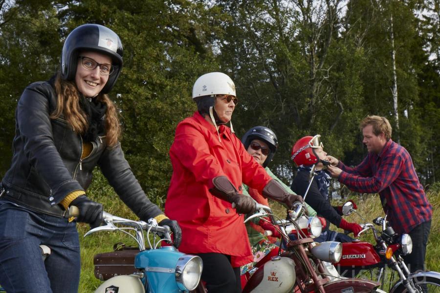 Damer är särskilt välkomna – till Gunillarally. Start och målgång på träffområdet i Skokloster (lite kortare än vanligt).