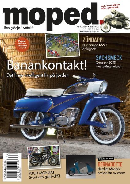 Laddat nummer! Köp Sveriges mopedtidning.