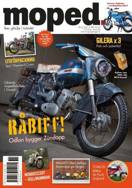 Nytt nummer - Moped 2/21