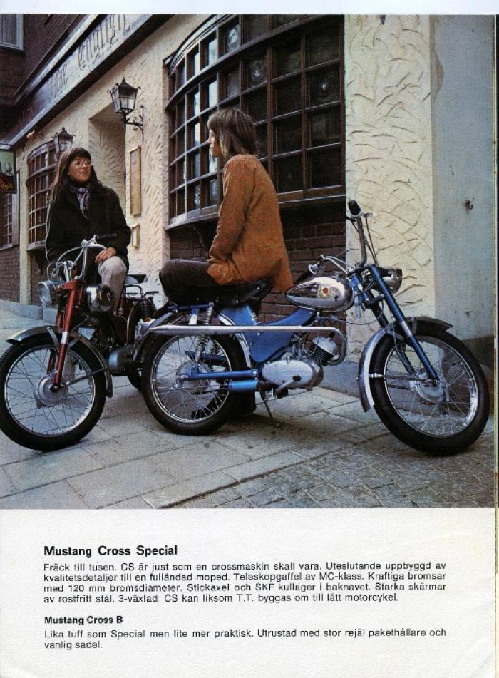 Mustang 618 cross special