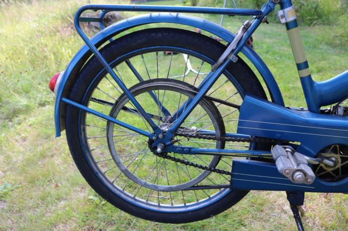 Fram moped - någon som vet nåt om den t ex årsmodell