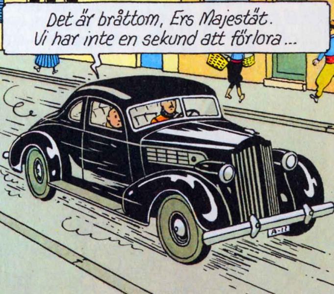 Tintin och bilarna