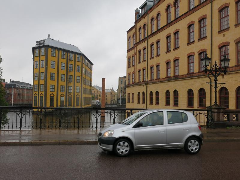 Rakt genom Norrköping