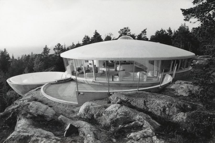 Ufohus på Torö