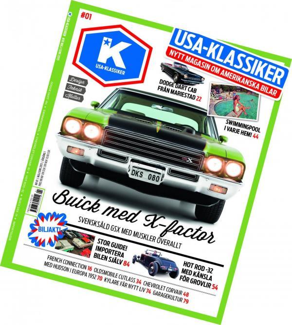 14 april landar första numret av nya magasinet USA-klassiker!