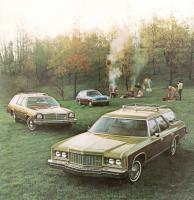 Mycket fuskträ 1974. Caprice, Chevelle och Vega – Chevrolet Wagons i olika storleker.