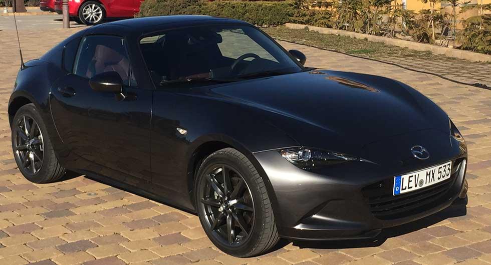 Mazda MX-5 RF – rapport från provkörningen