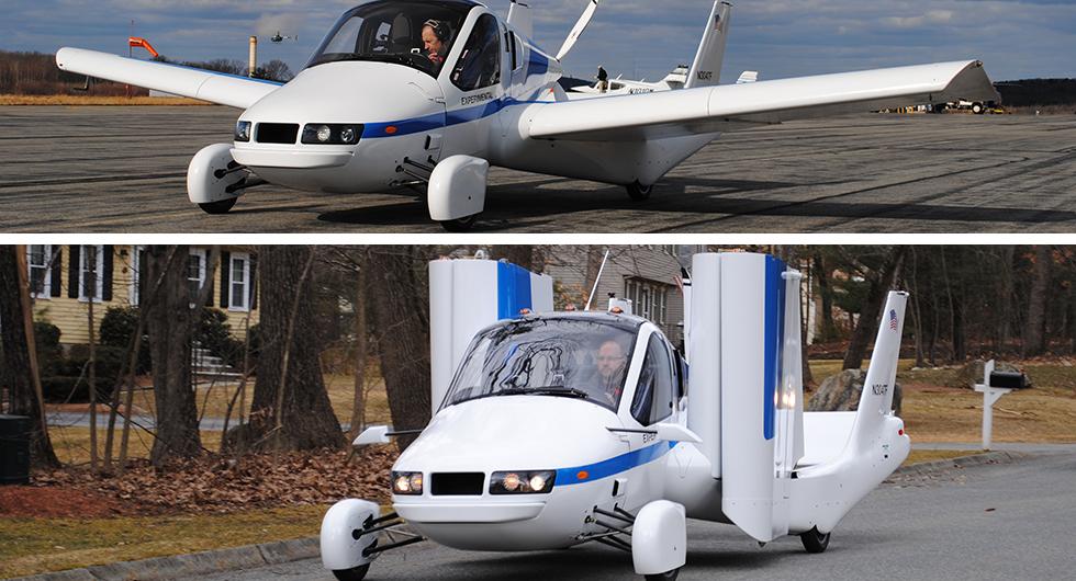 Geelys plan: flygande bilar
