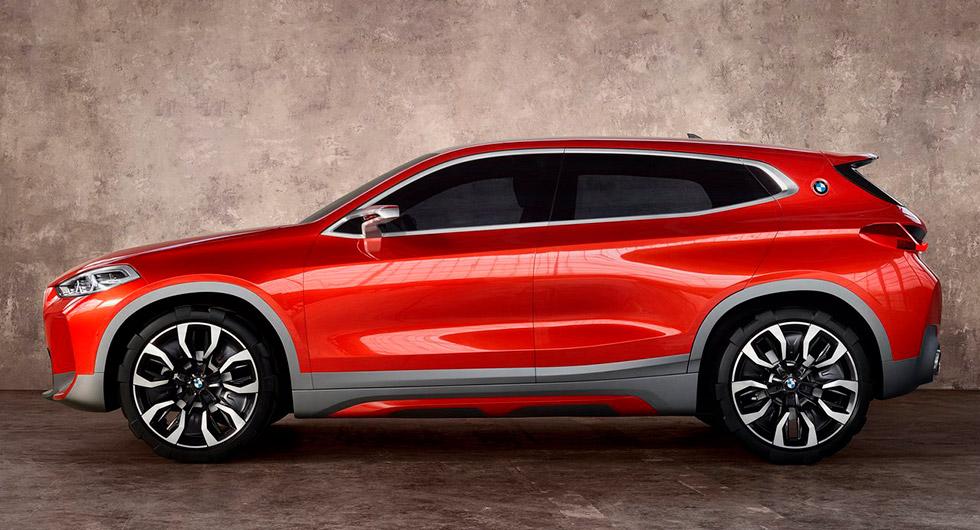 BMW X2 som koncept.