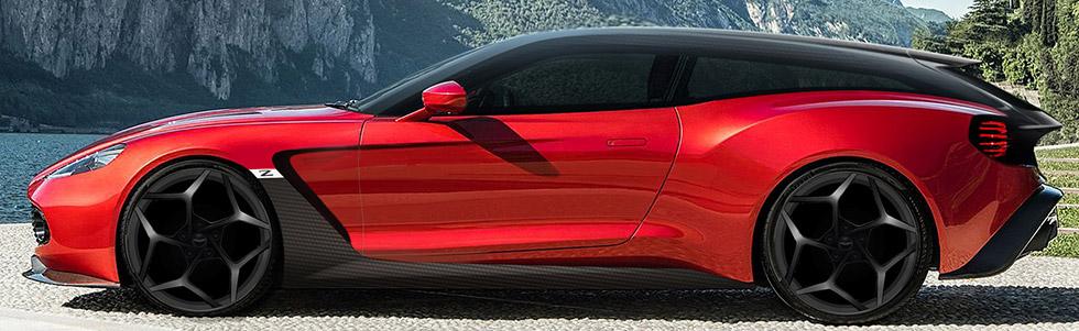 Aston Martin bygger Zagato-kombi