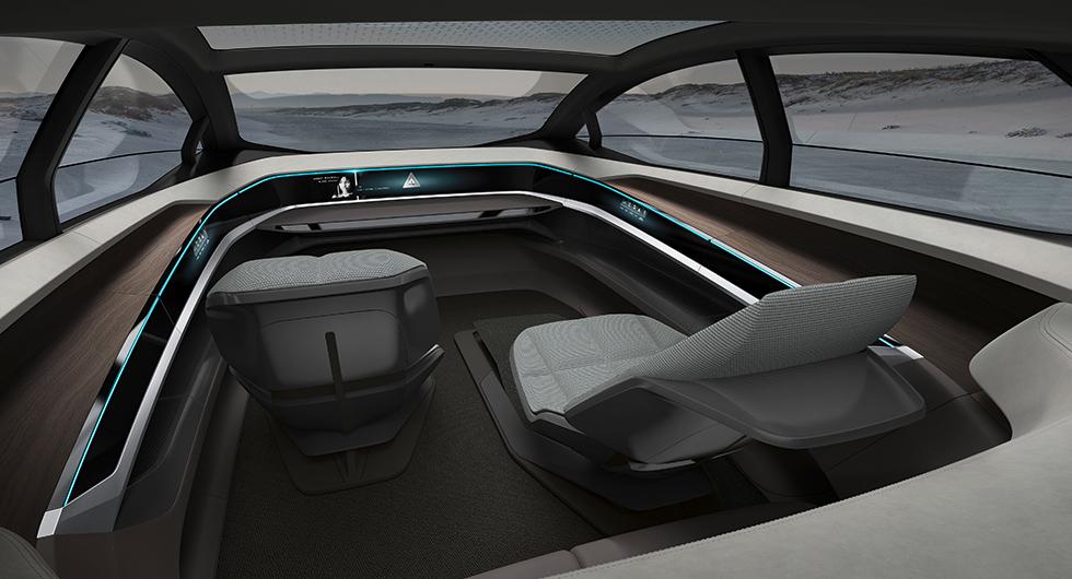 Audi Aicon styr själv in i framtiden