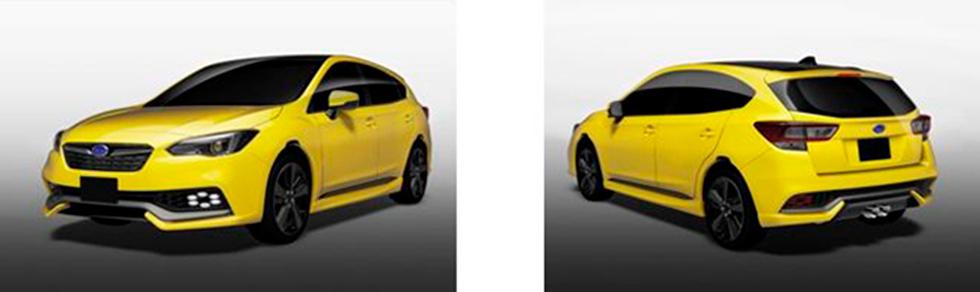 Impreza Future Sport Concept.