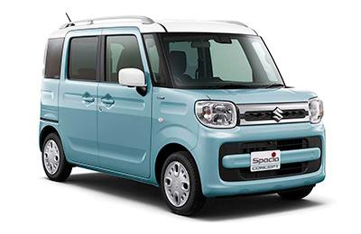 Suzuki satsar på kantiga högbyggen i Tokyo